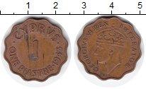 Изображение Монеты Кипр 1 пиастр 1943 Медь XF