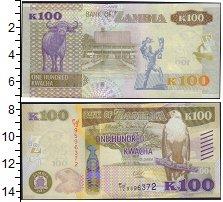 Изображение Банкноты Замбия 100 квач 0  UNC