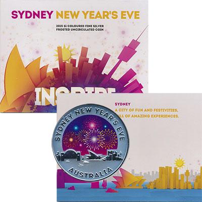 Изображение Подарочные наборы Австралия Новый год 2015 Серебро UNC