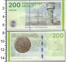 Изображение Боны Дания 200 крон 0  UNC-