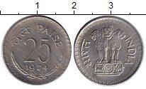Изображение Барахолка Индия 25 пайс 1974 Медно-никель UNC
