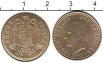Изображение Дешевые монеты Не определено 1 песета 1975 Медь XF