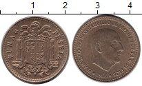 Изображение Дешевые монеты Не определено 1 песета 1966 Медь XF