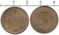 Изображение Дешевые монеты Не определено 1 песета 1953 Медь XF