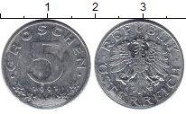 Изображение Барахолка Австрия 5 грош 1991 Цинк XF