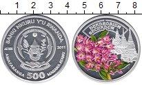 Изображение Монеты Руанда 500 франков 2011 Серебро Proof Цветная эмаль. Дендр