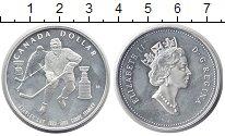 Изображение Монеты Канада 1 доллар 1993 Серебро Proof- Елизавета II. 100 -