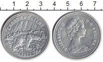 Изображение Монеты Канада 1 доллар 1980 Серебро UNC-