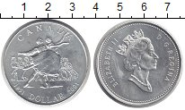 Изображение Монеты Канада 1 доллар 2001 Серебро UNC-