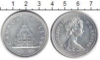 Изображение Монеты Канада 1 доллар 1976 Серебро UNC-