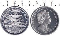Монета Фолклендские острова 1 крона Серебро 2007 UNC-