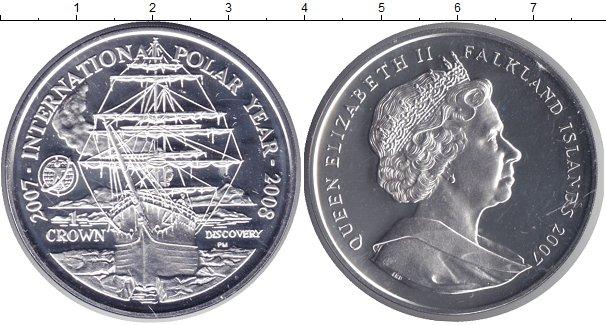 1 крона 2007 фолклендские острова каталогу биткина