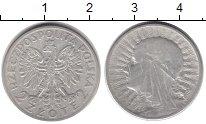 Изображение Монеты Польша 2 злотых 1933 Серебро XF