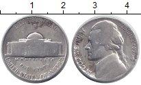 Изображение Монеты США 5 центов 1944 Серебро VF