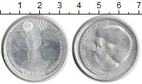 Изображение Монеты Нидерланды 10 евро 2002 Серебро UNC-
