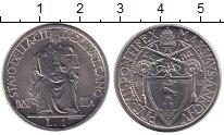 Изображение Монеты Ватикан 1 лира 1942 Медно-никель XF Понтифик Пий XII.