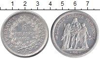 Изображение Монеты Франция 5 франков 1873 Серебро XF