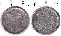 Изображение Монеты Гватемала 25 сентим 1893 Серебро VF