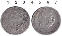 Изображение Монеты Австрия 5 крон 1900 Серебро VF-