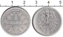 Изображение Монеты Германия 1 марка 1874 Серебро VF F