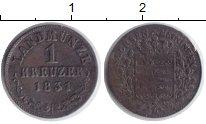 Изображение Монеты Германия Саксен-Майнинген 1 крейцер 1831 Серебро XF-