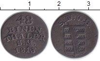 Изображение Монеты Саксен-Веймар-Эйзенах 1/48 талера 1813 Серебро XF-