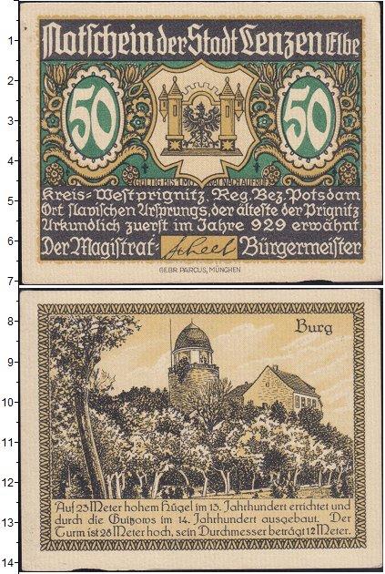 Картинка Банкноты Германия : Нотгельды 50 пфеннигов  0