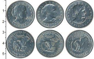 Изображение Наборы монет США США 1979 1979 Медно-никель UNC-