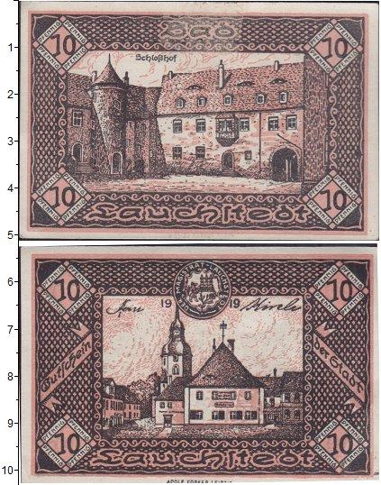 Картинка Банкноты Германия : Нотгельды 10 пфеннигов  1919