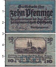 Изображение Банкноты Германия : Нотгельды 10 пфеннигов 1919  XF