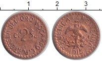 Изображение Монеты Мексика 2 сентаво 1915 Медь XF Тетела дель Окампо.Г