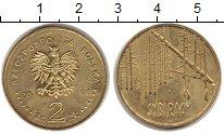 Изображение Монеты Польша 2 злотых 2008 Латунь XF