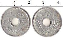Изображение Монеты Индокитай 5 центов 1943 Алюминий VF