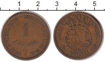 Изображение Монеты Мозамбик 1 эскудо 1968 Бронза VF