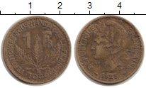 Изображение Монеты Того 1 франк 1925 Латунь VF