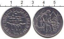 Изображение Монеты Сан-Марино 100 лир 1978 Сталь XF