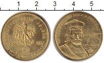Изображение Монеты Польша 2 злотых 2006 Латунь XF 500 - летие статуса