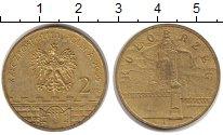 Изображение Монеты Польша 2 злотых 2005 Латунь XF