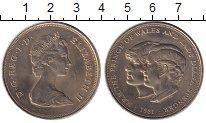 Изображение Монеты Великобритания 25 пенсов 1981 Медно-никель UNC