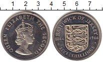Изображение Монеты Остров Джерси 5 шиллингов 1966 Медно-никель Proof- 900 лет Нормандским