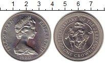 Изображение Монеты Остров Мэн 1 крона 1980 Медно-никель XF