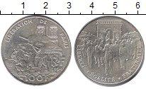 Изображение Монеты Франция 100 франков 1994 Серебро XF