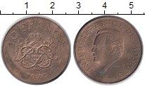 Изображение Монеты Монако 10 франков 1979 Латунь XF Принц Монако Ренье I