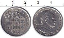Изображение Монеты Монако 1 франк 1977 Медно-никель XF
