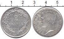 Изображение Монеты Бельгия 2 франка 1910 Серебро XF