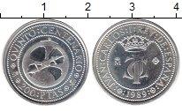 Изображение Монеты Испания 200 песет 1989 Серебро UNC