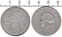 Изображение Монеты Люксембург 10 франков 1929 Серебро XF Великая герцогиня Лю