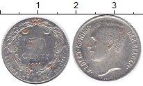 Изображение Монеты Бельгия 50 сантимов 1911 Серебро XF Альберт