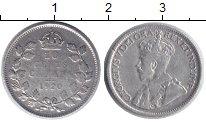 Изображение Монеты Канада 10 центов 1920 Серебро VF Георг V.