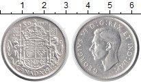 Изображение Монеты Канада 50 центов 1942 Серебро XF